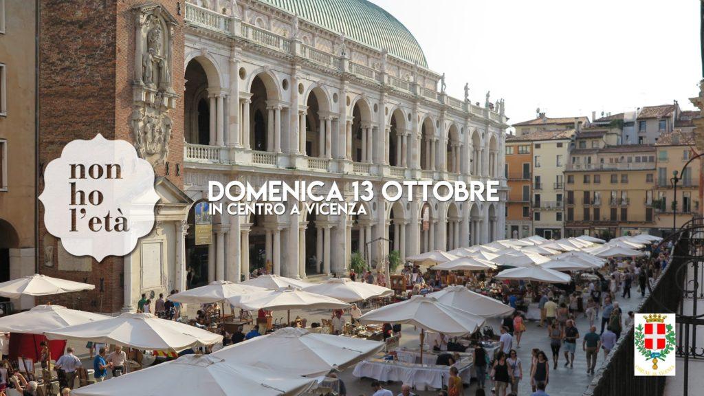 Non ho l'età mercato dell'antiquariato Vicenza